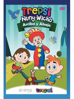 Dvd Compacto Trepsi Musica Infantil Niños Arriba Y Abajo