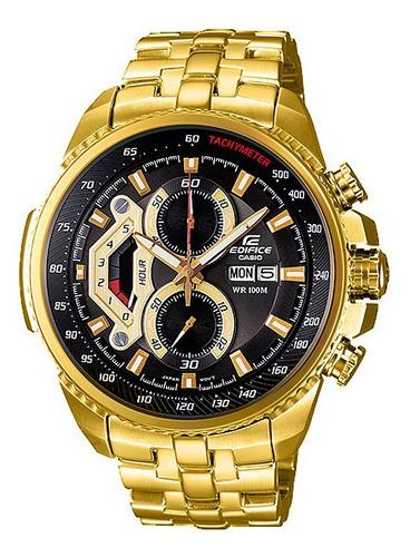 Reloj Casio Edifice Dorado Ef-558fg-1av - Sellado Original