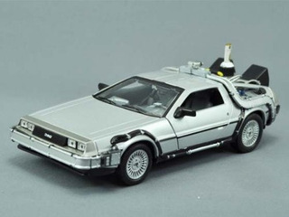 Back To The Future Delorean Set, Parte 1, 2 y 3