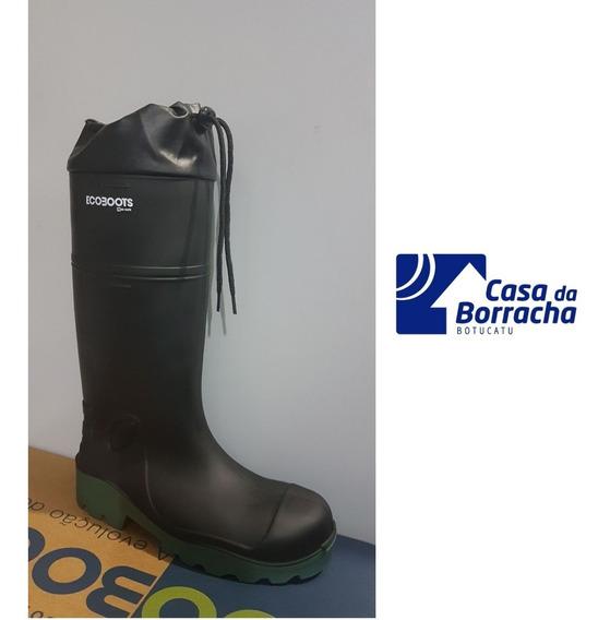 Bota Ecoboots Puresafe Amarra + Palmilha + Composite Bracol