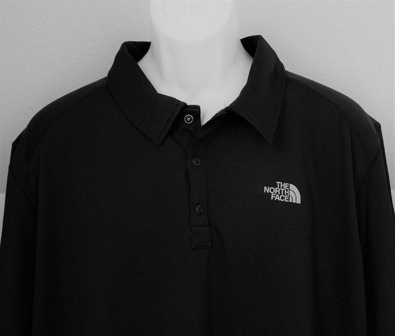 The North Face Camisa Polo Sawyer Negra Camiseta Golf Corta