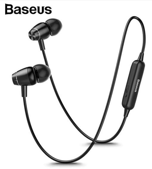 Fone Bluetooth Baseus Econk S09 S/fio C/imã Original Lacrado