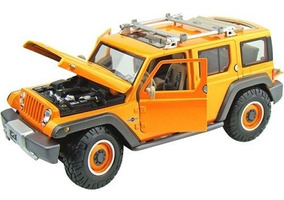 Miniatura Jeep Rescue Concept Laranja Maisto 1/18