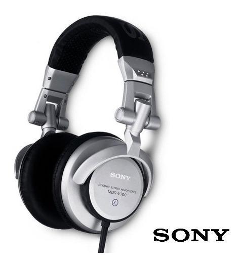 Fone De Ouvido / Headphone Sony Mdr V 700 Dj Rplk
