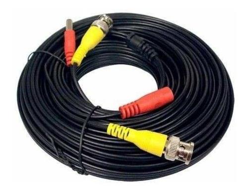 Cable Armado Video + Alimentacion Kit Cctv X 15mts Siames