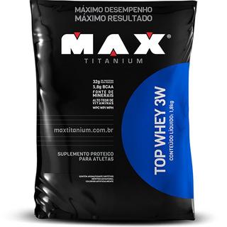 Top Whey 3w 1.800g - Max Titanium - Com Nf-e