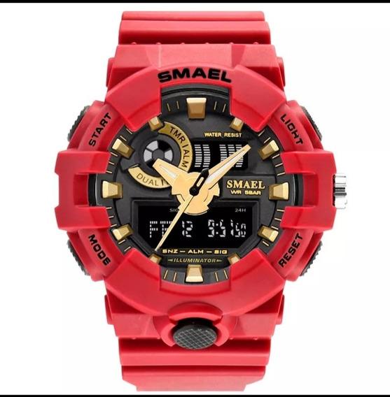 Relógio Analógico Digital Smael