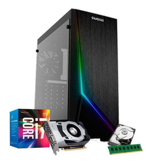 Pc Gamer I7 3770, 16gb, Hd 1tb, Geforce 4gb 1050 Gtx Ti + Nf