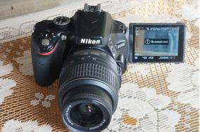 Oferta R$1150! Nikon D5100 Lente Semi Nova Na Caixa 4k Click