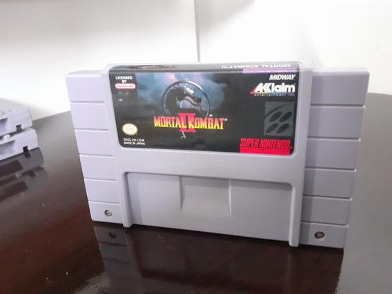 Mortal Kombat 2 - Snes Original