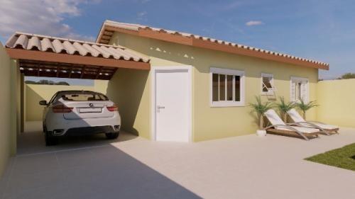 Imagem 1 de 5 de Casa Com Piscina E 2 Quartos Em Itanhaém/sp 6933-pc