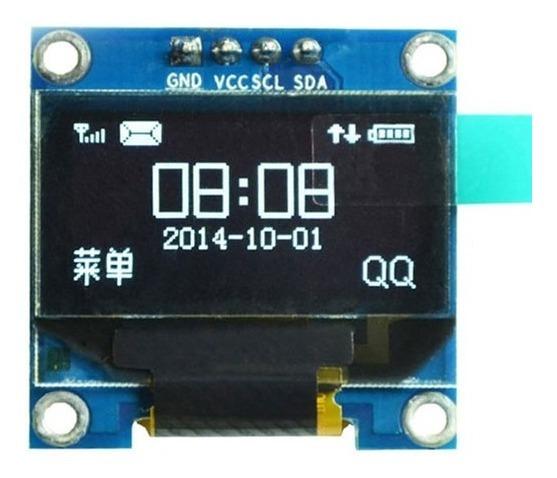 Display 0.96 Oled 128x64 I2c Arduino Raspberry Arm