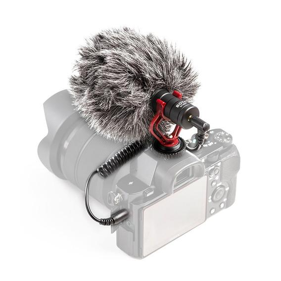 Microfone Boya By-mm1 Direcional Canon Nikon Smartphone