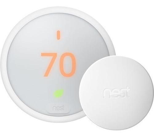 Termostato Nest E + Sensor De Temperatura Nest Nuevo