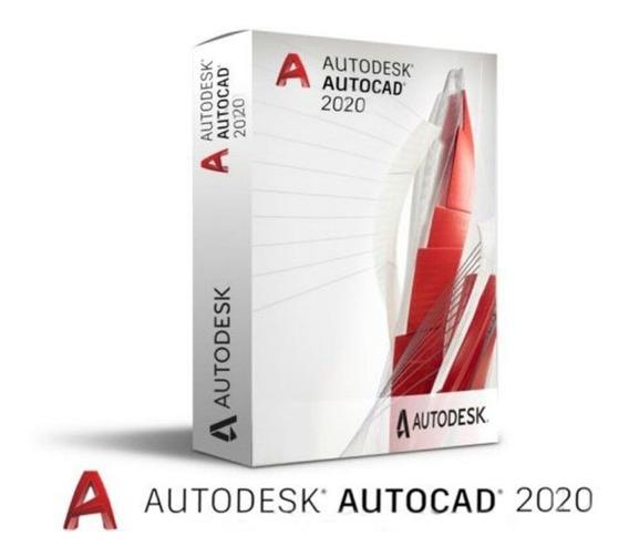 Autocad 2020 Completo Aivação Permanente Português Ou Inglês