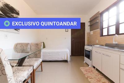 Apartamento No 1º Andar Mobiliado Com 1 Dormitório - Id: 892907816 - 207816