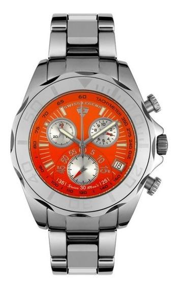 Swiss Legend Tungsten Mens Chronograph T801066