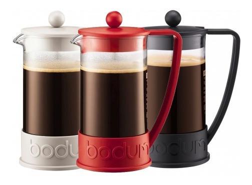 Cafetera Bodum Brazil Original Con Embolo 8 Pocillos 1lt