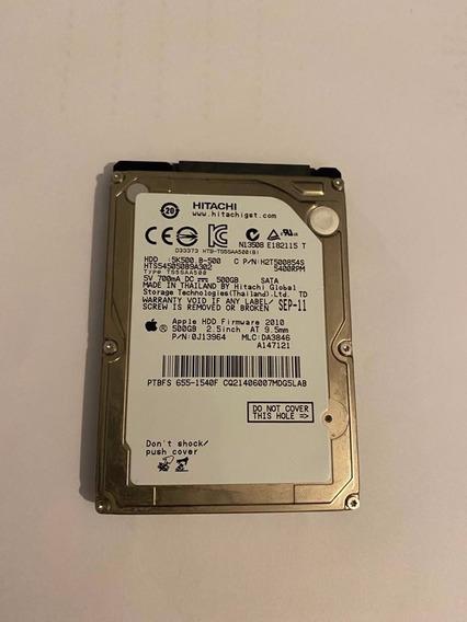 Hd 500gb Sata 5400rpm Apple Mac Book Original