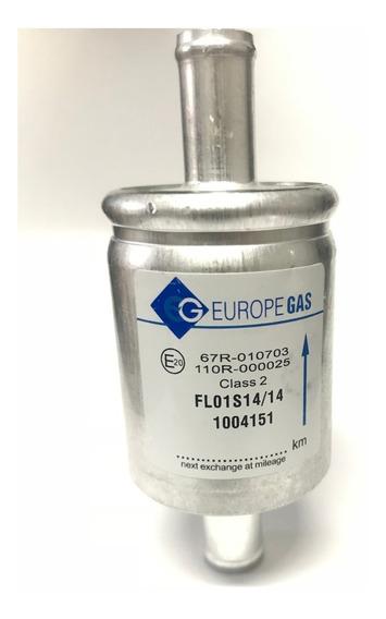 Filtro De Gnv Gás Natural Veícular 5ª Geração Injeção 14mm
