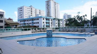 Apartamento Com 1 Dormitório, Varanda Gourmet À Venda, 49 M² Por R$ 195.000 - Vila Guilhermina - Praia Grande/sp - Ap2921