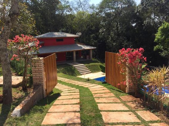 Linda Chácara 1.048 M² Em Condomínio Fechado-cód.c376
