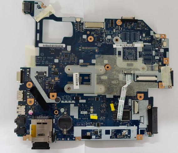 Placa Mãe Notebook Acer Aspire La-7912p (com Defeito)