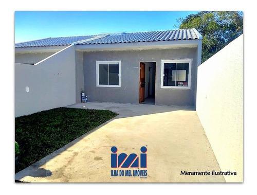 Imagem 1 de 15 de Casa Nova 2 Quartos Balneário Santa Terezinha - 2022sh-1