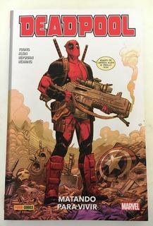 Comic Marvel: Deadpool - Matando Para Vivir. Historia Completa. Editorial Panini.