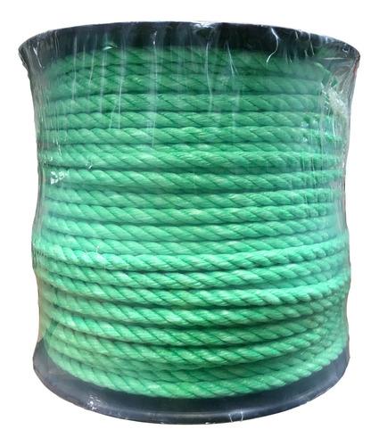 Cuerda De Polipropileno En Carrete De 12 Mm Color Verde