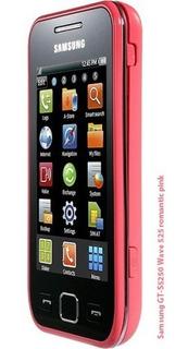Celular Samsung Wave 525, Gt-s5250 Rosado Liberado 3.2mp