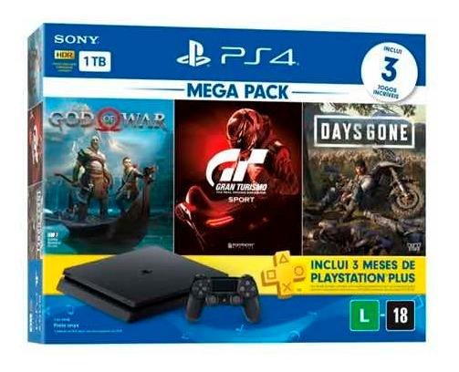 Playstation 4 Slim 1tb Bundle 10 - Ps4