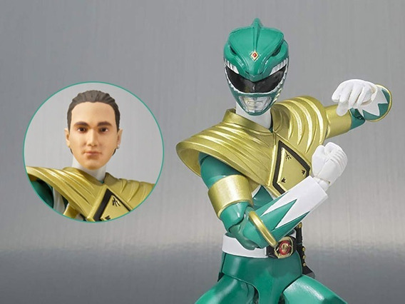 Green Range Mighty Morphin Power Rangers S.h. Figuarts Sdcc