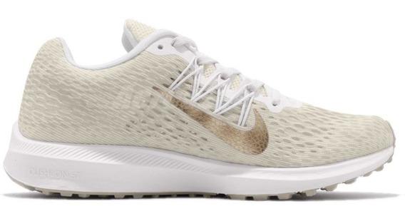 Zapatillas Nike Air Zoom Winflo 5 Mujer Running Aa7414-008