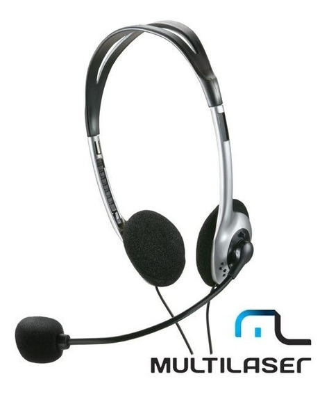 Fone De Ouvido Headset Multilaser Ph002