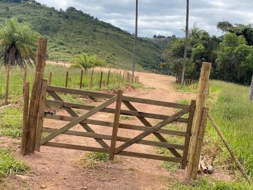 Imagem 1 de 11 de Linda Fazendinha De 25.000m2 Com Porteira, No Quintas Da Serra, Toda Cercada E Lindo Córrego Nos Fundos! - Oci0105 - 69586521