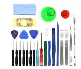 Kit 25 Ferramentas Manutenção Celular Tablet Smartphone Nf-e