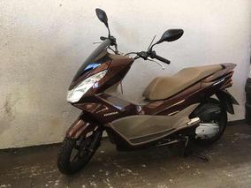 Honda Pcx Dlx 150 2018 Marron 2600km