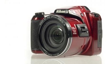 Câmera Nikon Coolpix L810 Vermelha Com Bolsa