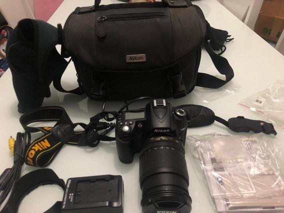 Nikon D90 Nova(2k Cliques) 18-105mm + Acessórios Ler Anuncio
