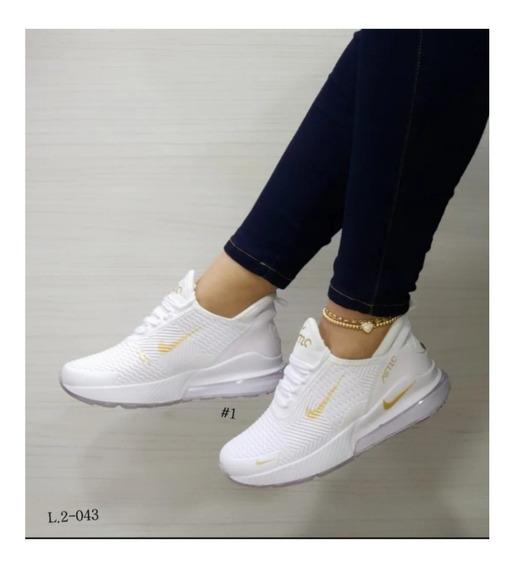 zapatos nike mujer negro con dorado