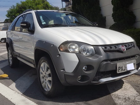 Fiat Palio Weekend Adventure 1.8 Flex 2016 Branco Completo