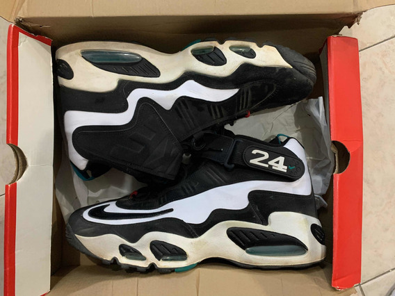 Air Griffey Max 1 White Black De Uso