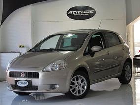 Fiat Punto 1.4 Elx Flex 2010 Bege Completo