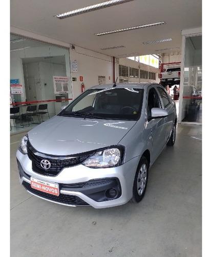 Imagem 1 de 10 de Toyota Etios 1.5 X Sedan 16v Flex 4p Automatico