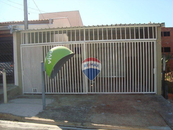 Casa E Sala Comercial No Jardim Mirandola Ii Em Americana -sp Na Rua Bolonha 76 - Ca0130