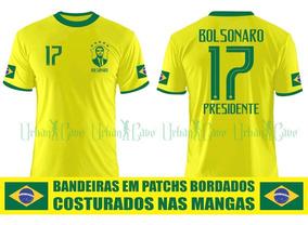 Camisa Seleção Brasileira Bolsonaro