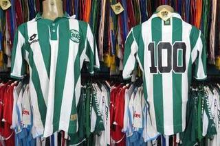 Coritiba 2009 Camisa Centenário Tamanho G Número 100.