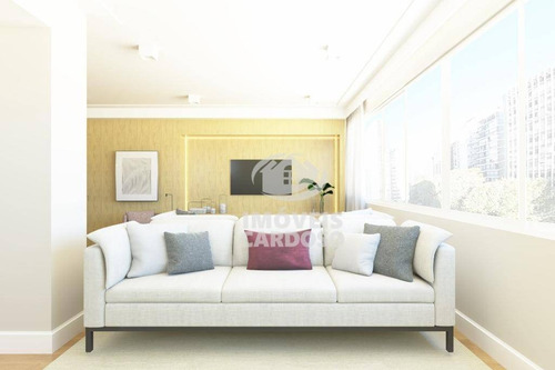 Imagem 1 de 9 de Apartamento Com 2 Dormitórios À Venda, 125 M² Por R$ 1.450.000 - Higienópolis - São Paulo/sp - Ap3430