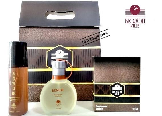 Perfume Colonia Kórum 100ml - Blossom Ville Melhor Vendedor